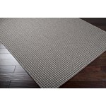"Surya Elements Charcoal Gray (ELT-1005) Rectangle 2'2"" x 3'4"""