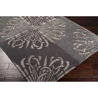 "Surya Essence Pewter (ESS-7629) Rectangle 3'3"" x 5'3"""