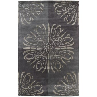 "Surya Essence Pewter (ESS-7629) Rectangle 5'0"" x 8'0"""