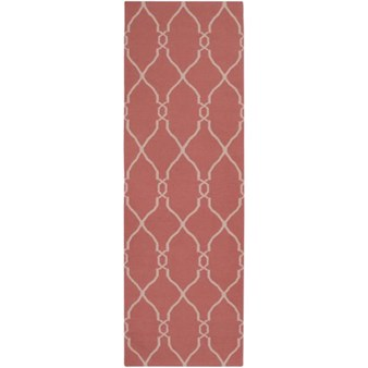 "Surya Jill Rosenwald Fallon Redwood (FAL-1002) Rectangle 2'6"" x 8'0"""
