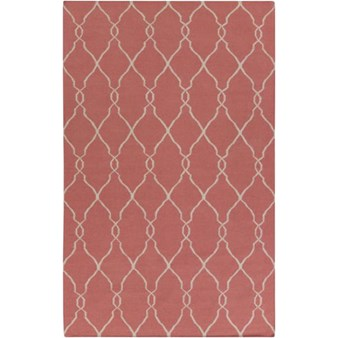 "Surya Jill Rosenwald Fallon Redwood (FAL-1002) Rectangle 5'0"" x 8'0"""
