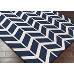 "Surya Jill Rosenwald Fallon Sapphire Blue (FAL-1093) Rectangle 2'0"" x 3'0"""