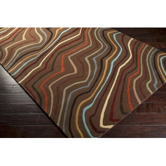 "Surya Forum Coffee Bean (FM-7155) Rectangle 10'0"" x 14'0"""