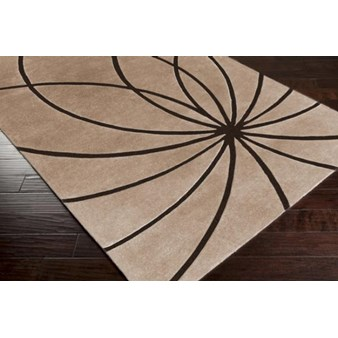 "Surya Forum Espresso (FM-7179) Rectangle 10'0"" x 14'0"""