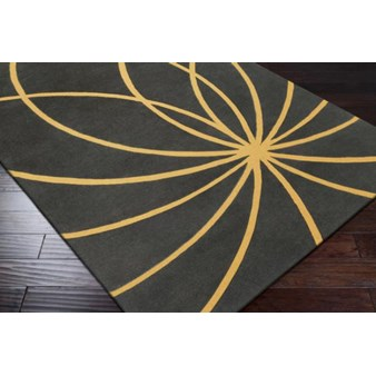 "Surya Forum Old Gold (FM-7181) Rectangle 10'0"" x 14'0"""