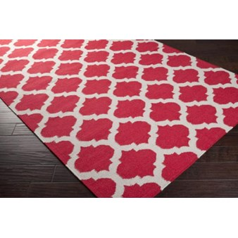 "Surya Frontier Red (FT-114) Rectangle 2'0"" x 3'0"""