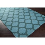 "Surya Frontier Sea Blue (FT-123) Square 1'6"" x 1'6"""