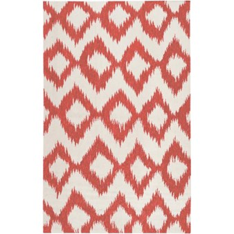 "Surya Frontier Poppy Red (FT-173) Rectangle 5'0"" x 8'0"""