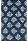 Surya Frontier Mediterranean Blue (FT-366) Rectangle 5'0