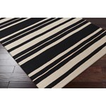 "Surya Frontier Coal Black (FT-439) Rectangle 2'0"" x 3'0"""