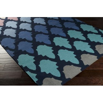 "Surya Frontier Federal Blue (FT-461) Square 1'6"" x 1'6"""
