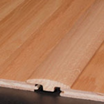 "Robbins Hardwood Flooring from Armstrong Regent Sapele Plank:  T-Mold Wrought Iron - 78"" Long"
