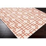 "Surya Goa Poppy Red (G-5073) Rectangle 2'0"" x 3'0"""