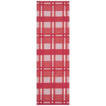 "Surya Country Living Happy Cottage Red (HC-5810) Rectangle 2'6"" x 8'0"""
