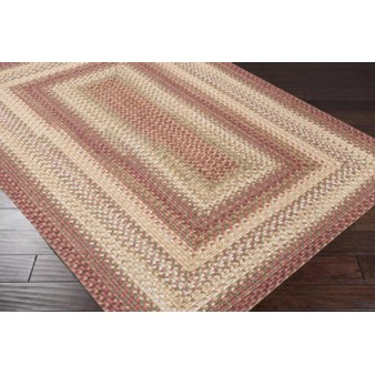 "Surya Jamestown Brick Red (JAM-4300) Rectangle 2'0"" x 3'0"""