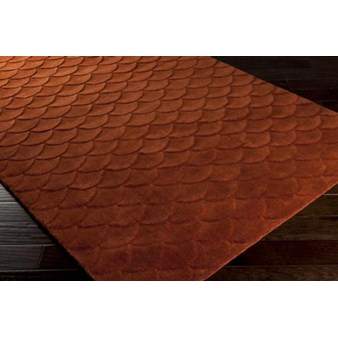 "Surya Kinetic Raw Sienna (KNT-3005) Square 0'6"" x 0'6"""