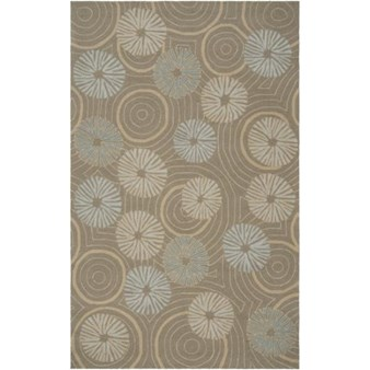 "Surya Julie Cohn Labrinth Stone (LBR-1002) Rectangle 5'0"" x 8'0"""
