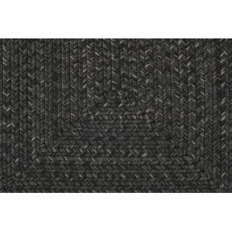 "Surya Liberty Coal Black (LIB-4400) Oval 2'6"" x 6'0"""
