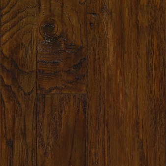 "Mannington Marrakech Moroccan Hickory: Clove 3/8"" x 2 1/4"", 3"" & 5"" Random Width Engineered Hardwood MMH05CV1"