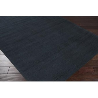 "Surya Mystique Coal Black (M-340) Round 9'9"" x 9'9"""