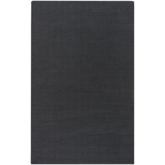 "Surya Mystique Charcoal Gray (M-341) Rectangle 5'0"" x 8'0"""