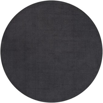 "Surya Mystique Charcoal Gray (M-341) Round 6'0"" x 6'0"""