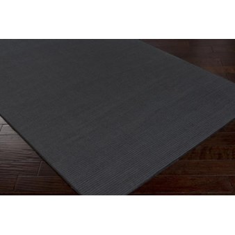 "Surya Mystique Charcoal Gray (M-341) Square 0'6"" x 0'6"""