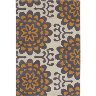 "Chandra Amy Butler (AMY13201-79106) 7'9""x10'6"" Rectangle Area Rug"