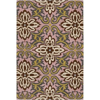 "Chandra Amy Butler (AMY13203-79106) 7'9""x10'6"" Rectangle Area Rug"