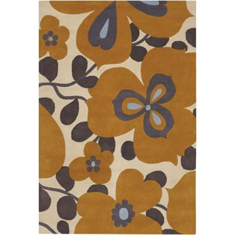 "Chandra Amy Butler (AMY13213-576) 5'0""x7'6"" Rectangle Area Rug"