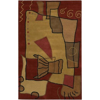"Chandra Antara (ANT115-79106) 7'9""x10'6"" Rectangle Area Rug"