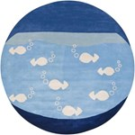 "Chandra Kids (KID7623-79RD) 7'9""x7'9"" Round Area Rug"