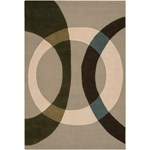 "Chandra Bense (BEN3021-576) 5'0""x7'6"" Rectangle Area Rug"