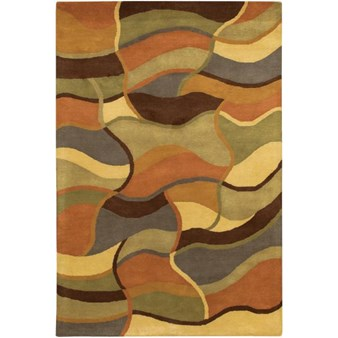 "Chandra Rain (RAI811-576) 5'0""x7'6"" Rectangle Area Rug"