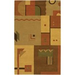 "Chandra Metro (MET509-79106) 7'9""x10'6"" Rectangle Area Rug"