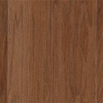 "Mohawk Warrenton: Hickory Thrasher Brown 3/8"" x 5"" Engineered Hardwood WEC39 92"