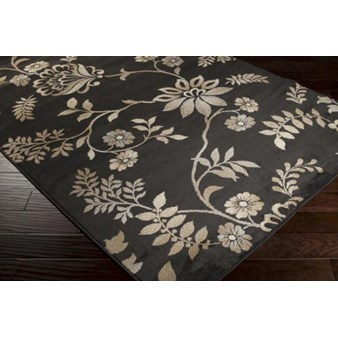 "Surya Paramount Charcoal Gray (PAR-1044) Rectangle 7'9"" x 11'2"""
