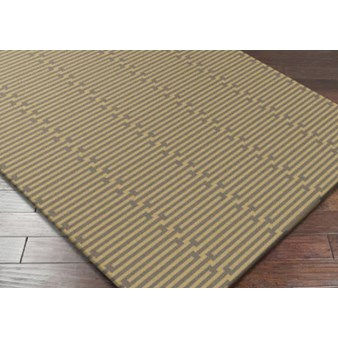 "Surya Platinum Wenge (PLAT-9002) Rectangle 2'6"" x 8'0"""