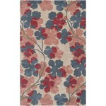 "Surya Paule Marrot Paule Marrot Parchment (PMT-1018) Rectangle 5'0"" x 8'0"""