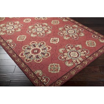 "Surya Rain Red Clay (RAI-1071) Rectangle 2'0"" x 3'0"""