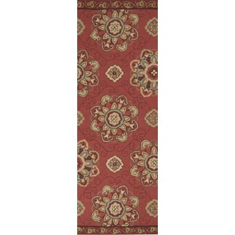 "Surya Rain Red Clay (RAI-1071) Rectangle 2'6"" x 8'0"""