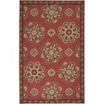 "Surya Rain Red Clay (RAI-1071) Rectangle 5'0"" x 8'0"""