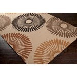"Surya Rain Frappe (RAI-1087) Rectangle 3'0"" x 5'0"""