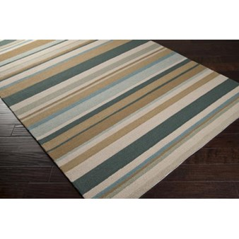 "Surya Rain Peacock Green (RAI-1089) Rectangle 2'0"" x 3'0"""
