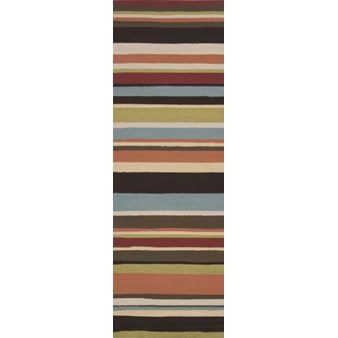 "Surya Rain Wenge (RAI-1091) Rectangle 2'6"" x 8'0"""