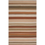 "Surya Rain Red Clay (RAI-1092) Rectangle 5'0"" x 8'0"""