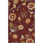 "Surya Rain Carnelian (RAI-1106) Rectangle 5'0"" x 8'0"""