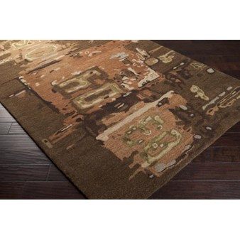 "Surya Rant Mulled Wine (RANT-8706) Rectangle 2'0"" x 3'0"""