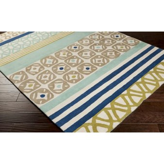"Surya Scion Scion Foggy Blue (SCI-18) Rectangle 3'3"" x 5'3"""