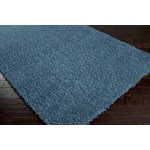 "Surya Shimmer Bright Cerulean (SHI-5004) Square 1'6"" x 1'6"""